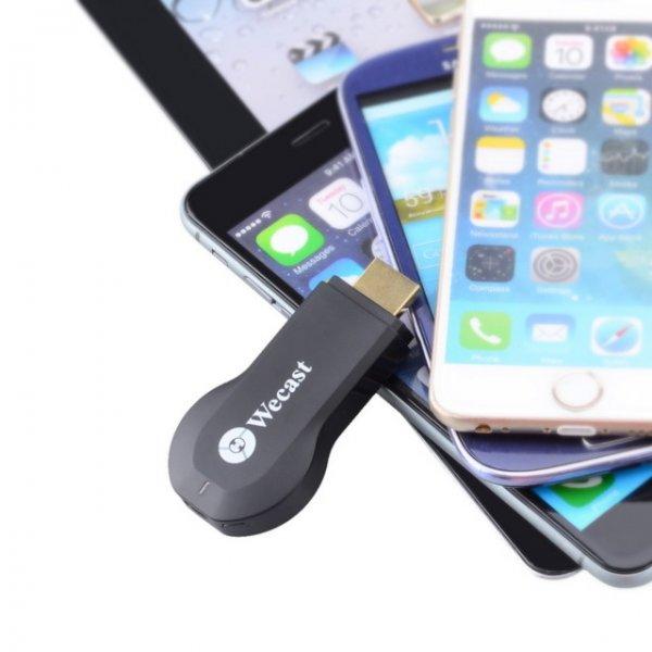 C2-Wecast Wireless-Display-Dongle mit DLNA, Miracast & AirPlay für iOS / Android bei Allbuy