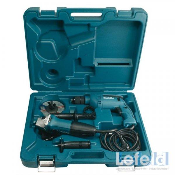 Makita DK1185 Set Winkelschleifer GA5030 + Schlagbohrmaschine HP1641  @ebay 99,90€