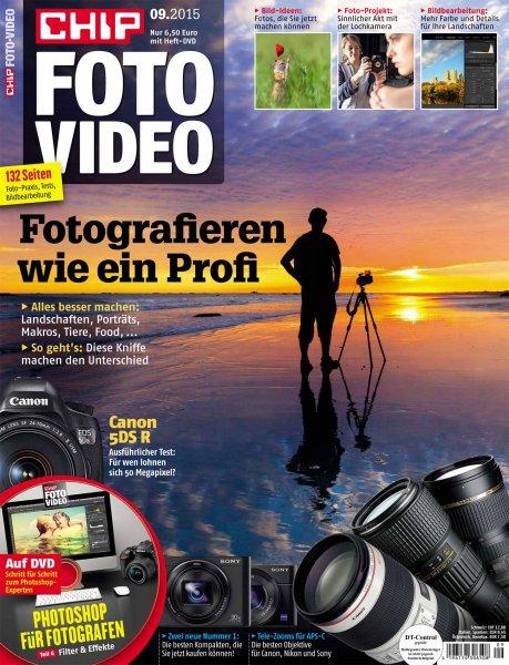 """Wieder ähnlich da: 6 Ausgaben """"CHIP Foto-Video digital DVD"""" inkl. DVD für 36,90€ mit 30,00€ Tankgutschein – Effektivpreis: 6,90€"""