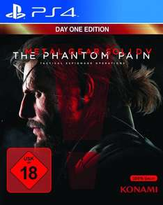 [Rakuten.co.uk] Metal Gear Solid 5: The Phantom Pain - Day One Edition (XBO / PS4) für 49,14€ [ab 01.09. lieferbar]