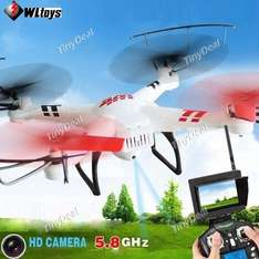 WLtoys V686G 4CH 360° Flips 5.8GHz 2MP HD LED RC Quadcopter Drohne mit Video Transmitter VERSAND AUS DE @Tinydeal
