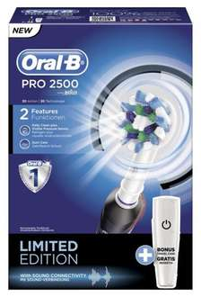 Braun Oral-B Pro 2500 Black mit Reiseetui kaufen - Oral-B Stages für die Kids gratis