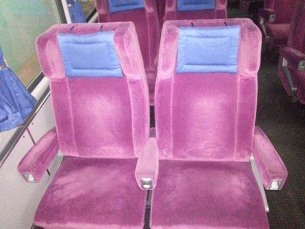 Sitz einfach / doppel 1. Klasse aus IC Modernisierung