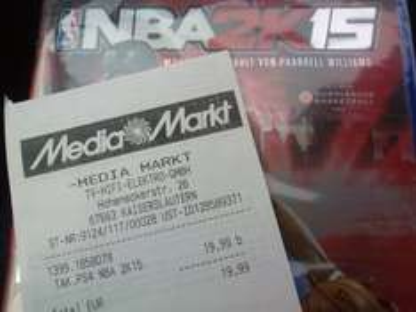 (lokal Kaiserslautern MM) NBA 2k15 PS4