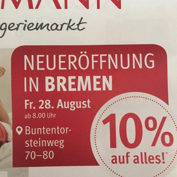 [Bremen] Rossmann Buntentorsteinweg Neueröffnung 10% auf alles