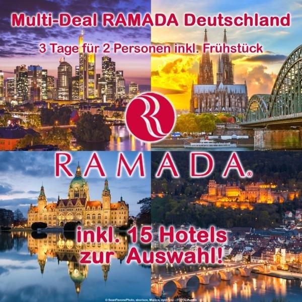 Ramada Hotelgutschein (15 Hotels in DE)