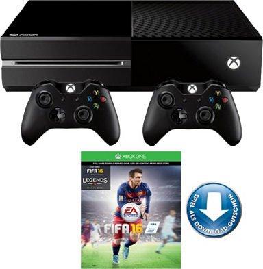 Xbox One 500GB + FIFA 16 + 2. Controller bei OTTO (Neukunden) 364,99