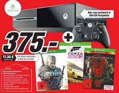 [LOKAL MM Kaiserslautern + Online] Xbox One + The Witcher 3 + Forza Horizon 2 + Metal Gear Solid V