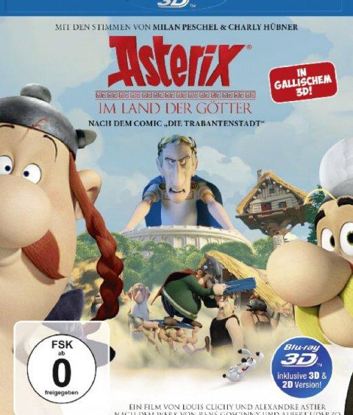 Asterix im Land der Götter (inkl. 2D-Version) [3D Blu-ray]
