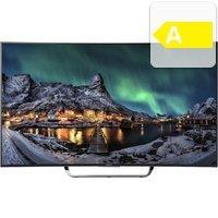 Sony BRAVIA KD-55S8005C, LED Fernseher, CURVED, 139 cm (55 Zoll), 2160p (4K Ultra HD), Smart-TV, schwarz, Energieeffizienzklasse A @OTTO,  Nächster Preis: 2399,99€