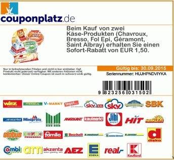 [Kaufland regional] Fol Epi Hauchfein ( Angebot+Coupon) 2 Packungen für 0,72€