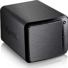 eBay WOW | ZyXEL NAS 540 (4-Bay, 2x GB Ethernet, 3x USB 3.0, Quiet FAN) für 129,90€
