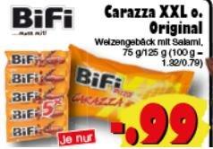 [JAWOLL]  Bifi 5er Pack für 0,99€ | Carazza XXL ebenfalls reduziert | Offline