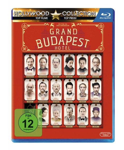 [Amazon] Grand Budapest Hotel Blu-Ray ab 7,97€ (Bestpreis, #Buchtrick)