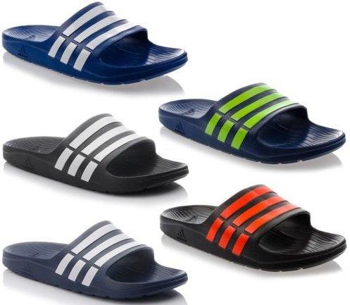Adidas Duramo Badeschuhe/ Badelatschen in vielen Farben und Größen für 14,72 €