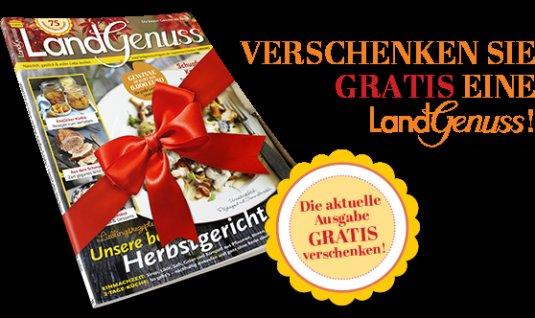 """Magazin """"Landgenuss 5/2015"""" gratis zum verschenken"""