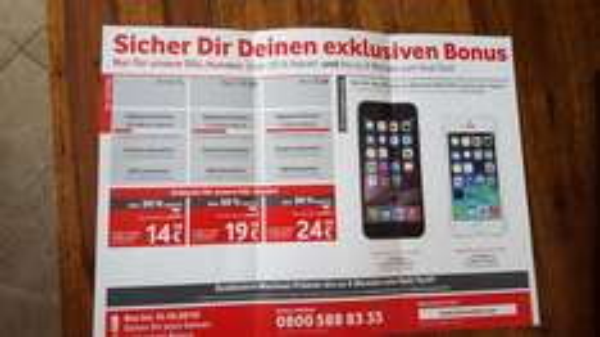 über 50% Rabatt für Vodafone Smart L, Red 1,5GB und Red 3GB für KD und Vodavone DSL Kunden