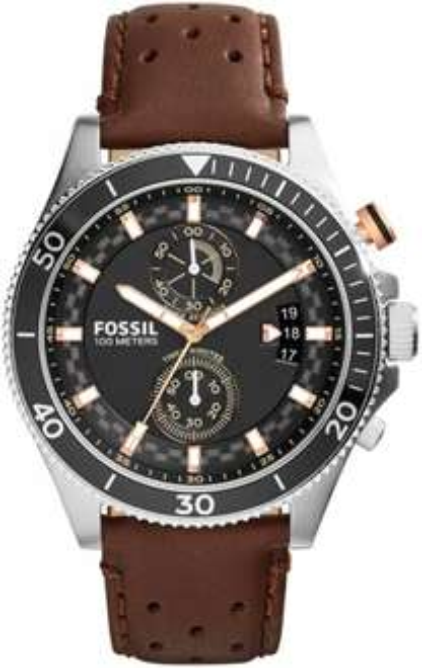 [Elektroshop Wagner]  Fossil Wakefield CH2944 Herren Edelstahl-Chronograph mit Lederarmband für 89,95€ incl.Versand!