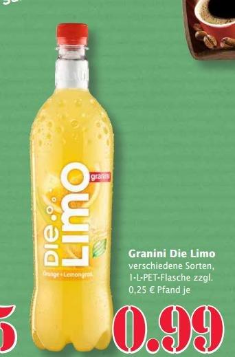 Die Limo für 0,49 ab 3 Flaschen. Marktkauf