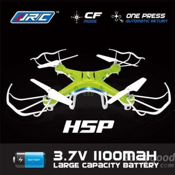 Quadcopter JJRC H5P mit 2.0MP HD Kamera 2.4G 4CH 6-achig1100mAh Batterie,  bei Allbuy