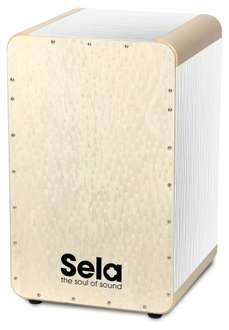 [Amazon] Cajon Sela Wave White Pearl für 189,52€