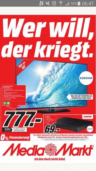 Samsung UE60J6150 für 777 EUR im Media Markt  Weiterstadt