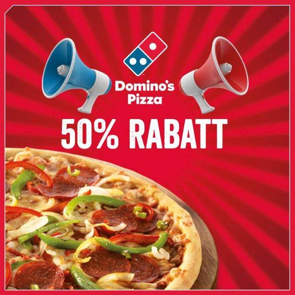 [Lokal Berlin-Schöneberg & Charlottenburg] Domino's Pizza Mega Week - 50% auf alle Pizzen