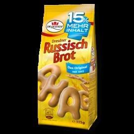 [Dresden] 5x Dr. Quendt Russisch Brot, mit Druckfehler MHD