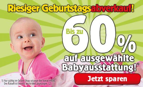 SPIELE MAX bis zu 60% auf ausgewählte Babyausstattung