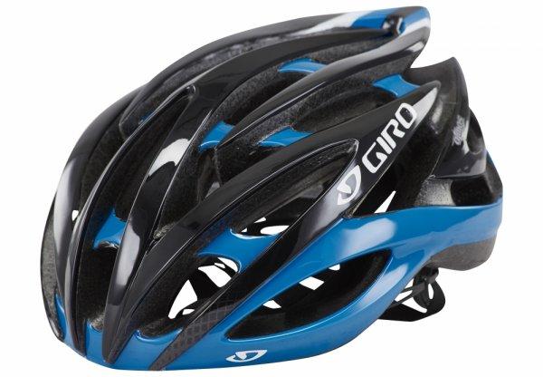 Giro Fahrradhelm/Rennradhelm Atmos II blue / black 51-55 cm (S), @Amazon
