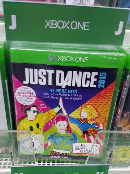 [LOKAL] Media Markt Siegen - Just Dance 2015 [XBO] für 5€