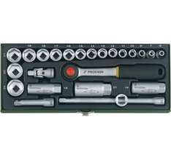 "[digitalo.de] Proxxon 23110 Steckschlüsselsatz 10mm (3/8""), 24 teilig"