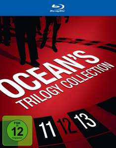 Ocean's Trilogy Collection [Blu-ray] @Amazon