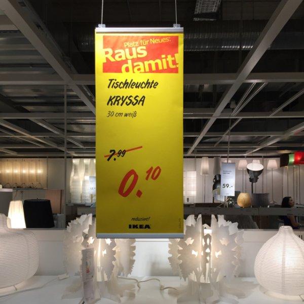 [Lokal] Ikea Tischleuchte Kryssa