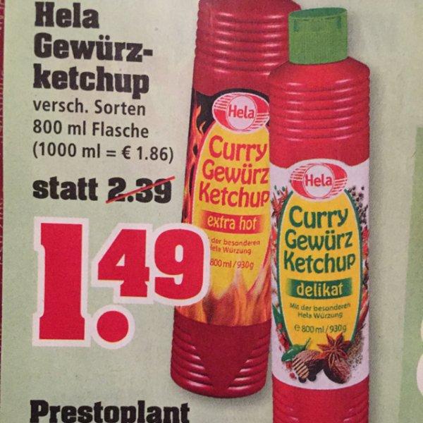 1,49€ Hela Gewürzketchup 800ml [Trinkgut] ab 31.08.