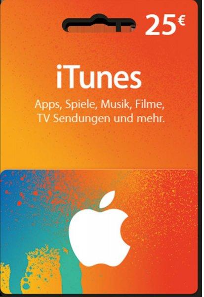 (LOKAL Riesa, Meißen, Elsterwerda; evlt. bundesweit?) iTunes 25€ Guthabenkarte bei Medimax