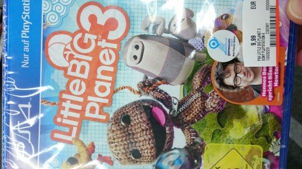 PS 4 - Little big Planet 3 - Media Markt (lokal Siegen)