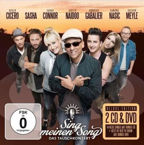 [Saturn] Various: Sing Meinen Song - Das Tauschkonzert (2 CD + DVD ) für 9,99€ incl.Versand!