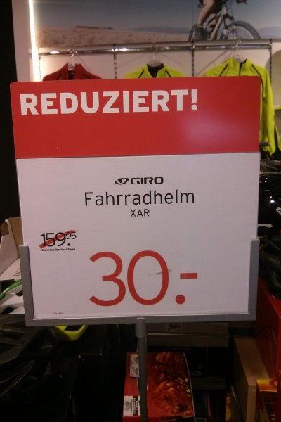 [Karstadt Sport Hamburg] Profi Fahrrad Helm Giro XAR / Athlon für sehr günstige 30€