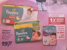 @real Markt// Pampers 2 Megapacks kaufen, 1 Folienpack gratis !