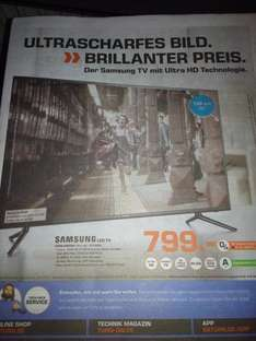 [Lokal - Saturn Göttingen] Samsung UE55JU6050 UHD TV - Idealo: 1.464,69 €