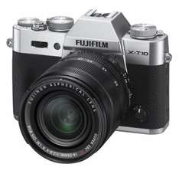 [Amazon.fr] Fuji Fujifilm X-t10 silber oder schwarz + 16-50mm II