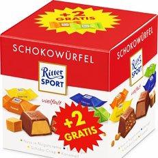 Ritter Sport Schokowürfel in der Sondergröße für nur 1,79 € bei [Globus]
