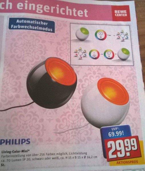 Philips living color Mini schwarz und weiß (Rewe Center)
