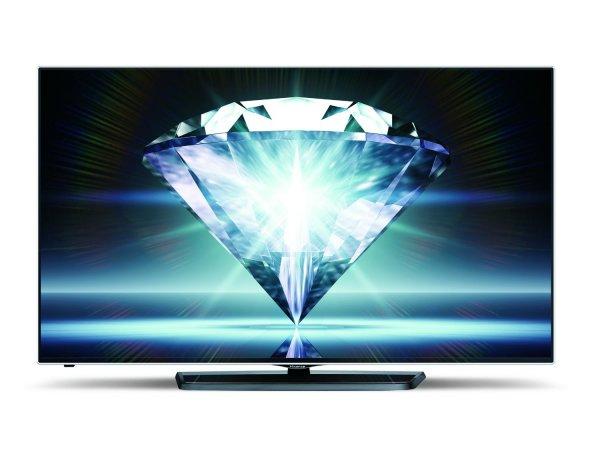 BEENDET: Hisense LTDN55K681 138 cm (55 Zoll) Fernseher (Ultra HD, 2x Triple Tuner, 3D, Smart TV)