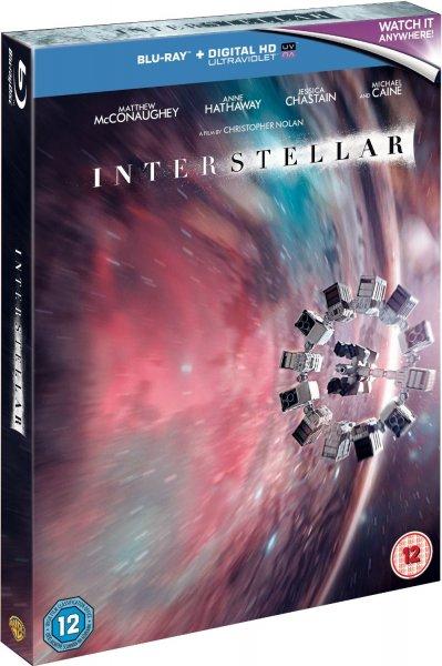 Interstellar (Limited 2-Disc Digibook Edition) [Blu-ray + UV Copy] inkl. Vsk für ~ 20,39 €  > [amazon.uk]