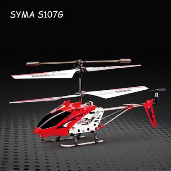 @ CN SYMA S107G Mini Helikopter GYROSCOPE-TECHNOLOGIE und LED