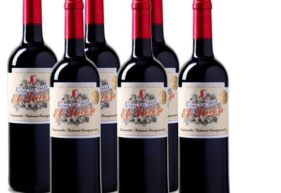 [3% Qipu] 6 Flaschen Casa del Valle – 'El Tidón' Tempr.-Cabernet - VdT Jahrgang 2014 aus Kastilien für 25€ frei Haus von Weinvorteil