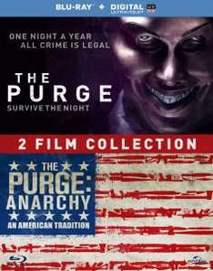 The Purge + The Purge: Anarchy (Blu-ray) für 13€ @Zavvi.com