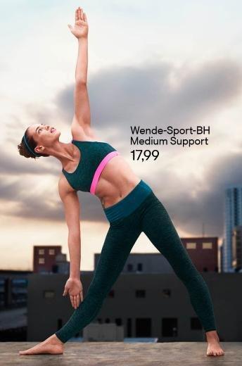 [H&M] 3 für 2 auf ausgewählte Sportmode für Damen